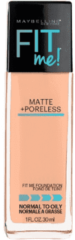 Maybelline Fit Me! Matte and Poreless Foundation 30ml (Various Shades) - 130 Buff Beige