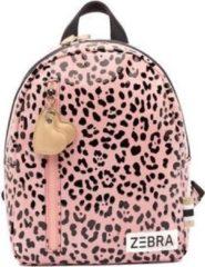 Roze Zebra Trends Kinder Rugzak S Zebra Pink Spot