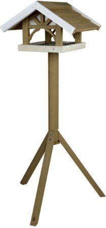 Afbeelding van Bruine TRIXIE TRIXIR Vogelvoederhuisje staand Natura 45x28x44 cm bruin 55802