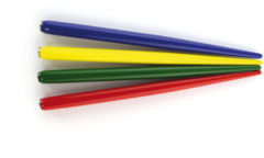 Penhouder Kangaro assorti kleuren zakje a 12 stuks K-7900