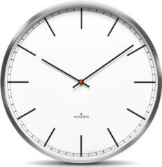 Huygens klokken Huygens - One35 - Stil - Wandklok - Roestvrij Staal - Wit - Index - Medium - Ø35 cm - HU10002
