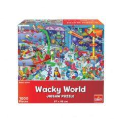 Boeketbinderij.be Goliath Wacky World Puzzel Outerspace 1000 Stukjes