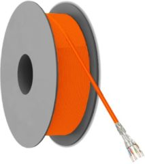 Netwerkkabel CAT 7a S/FTP Goobay 91890 4 x 2 x 0.25 mm² Oranje 500 m