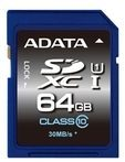 ADATA Technology Co ADATA Premier UHS-I - Flash-Speicherkarte - 64 GB ASDX64GUICL10-R