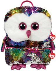 Ty Fashion Rugzak Owen Owl Square 26x20cm
