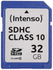 Intenso Speicherkarte Secure Digital SDHC Card 32 GB Intenso bunt/multi