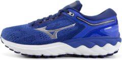 Blauwe Mizuno Wave Skyrise hardloopschoenen voor dames - Hardloopschoenen