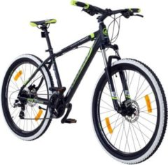 Galano Toxic 27,5 Zoll 650B MTB Mountainbike Scheibenbremsen... schwarz/grün