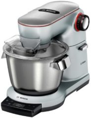Zilveren Bosch-keukenmachine OptiMUM MUM9AX5S00, 1500 W, met geïntegreerde weegschaal