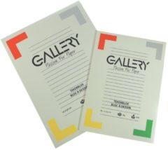 Gallery tekenblok, houtvrij papier, 120 g/m², ft 21 x 29,7 cm (A4), blok van 24 vel