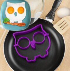 MHT Ei Ring - Pancake Ring - Uil- Paars- Pancake Maker - 1 stuk - Keuze uit 10 Verschillende Varianten