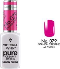 Fuchsia Gellak Victoria Vynn™ Gel Nagellak - Gel Polish - Pure Creamy Hybrid - 8 ml - Spanish Carmine - 079