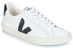 Witte Lage Sneakers Veja ESPLAR LOW LOGO