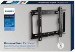 Discountershop Philips SQM322100 flat panel muur steun 106,7 cm (42'') Zwart Wall mount Fixed