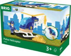 Blauwe Ravensburger BRIO Politie helicopter - 33828