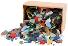 Creativ company Mozaiek, afm 15-60 mm, kleuren assorti, Kleuren assorti, 2 kg
