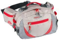 Rode Abbey Camp Abbey - Outdoor Heuptas - Beige/Grijs/Rood