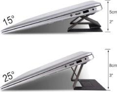 Donkergrijze HammerTECH laptop standaard, Verstelbaar, Opvouwbaar, Ergonomisch, Verschillende hoogtes, Ontzichtbaar