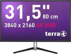 "Wortmann AG TERRA 3290W 80 cm (31.5"") 3840 x 3160 Pixels 4K Ultra HD LED Zwart"