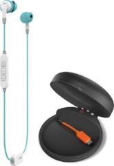 Blauwe JBL Inspire 700 In-ear Binaural Wireless Blue mobile headset JBLINSP70