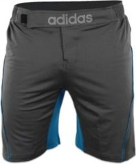 Adidas Training MMA Short Grijs/Blauw Small