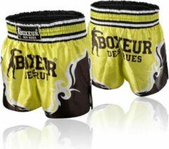Gele Boxeur Des Rues Kick/Thai Shorts - Tribal Symbols Shorts