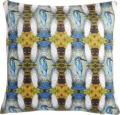 Groene Dividere Home Dividere Kingfisher - Sierkussen - Multi (45 x 45)