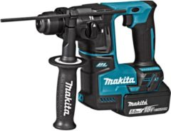 Makita DHR171RTJ 18V Li-Ion accu SDS-plus boorhamer set (2x 5,0Ah accu) in Mbox - 1,2J