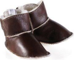 Woolwarmers Kindersloffen - Bruin - Maat 23/24