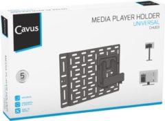 Zwarte Cavus CHU03 Universele houder voor multimedia speler, modem/router & game consoles