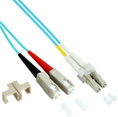 EFB Elektronik O0314.20 Glasvezel Aansluitkabel [1x LC-stekker - 1x SC-stekker] 50/125 µ Multimode OM3 20.00 m