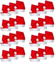 Rode VidaXL Kerstmutsen 24 st