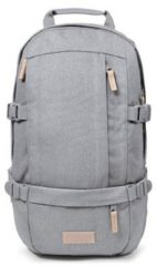 Grijze Eastpak Floid laptoprugtas van denim met 15 inch laptopvak