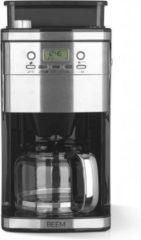 Roestvrijstalen BEEM Fresh-Aroma-Perfect-Superior, Koffiezetapparaat voor bonen en filterkoffie – met waterinstelling, koffieapparaat, coffee machine