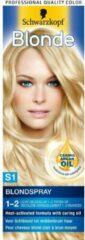Schwarzkopf Poly Palette Schwarzkopf Blonde Blondspray A1 Haarverf - 1 stuk