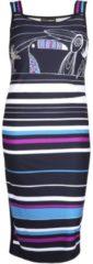Sommerkleid STRIPES Doris Streich multicolour/schwarz