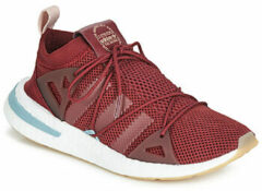 Bordeauxrode Lage Sneakers adidas ARKYN W