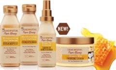 Creme of Nature Pure Honey SHAMPOO+CONDITIONER+LEAVE IN COND+TWISTING CREAM SET.