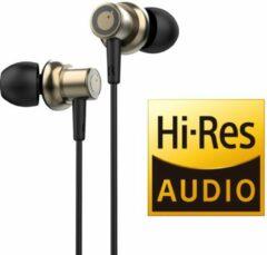Tuddrom R3 Goud - Hi-Res Metalen In Ear Oordopjes met Microfoon - Titanium High Quality Dynamic Drivers - 2 Jaar Garantie