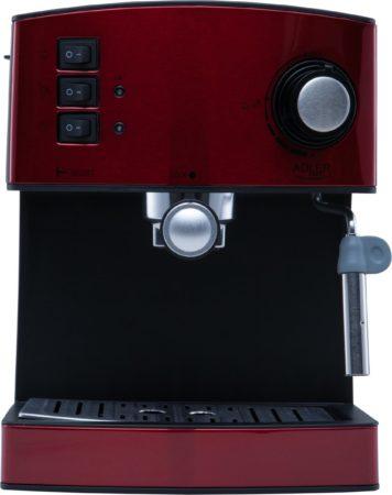 Afbeelding van Adler AD 4404r Vrijstaand Espressomachine Zwart, Rood, Zilver 1,6 l