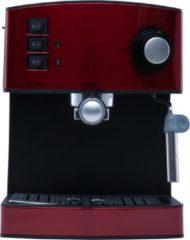 Adler AD 4404r Vrijstaand Espressomachine Zwart, Rood, Zilver 1,6 l