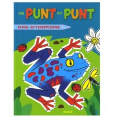 Van punt tot punt kleur- en tekenplezier - Boek Deltas Centrale uitgeverij (9044739786)