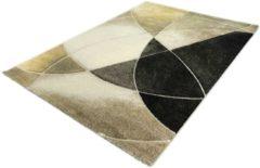 Merinos Vloerkleed - Streepjes Design - Diamond Deluxe - Goud-80 x 150 cm