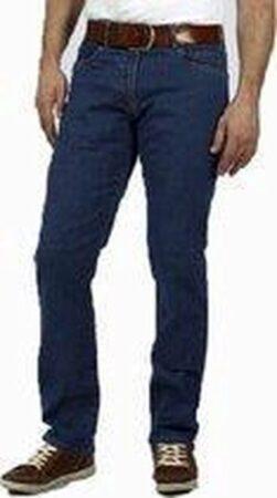 Afbeelding van DJX BASIC DJX Heren Jeans Model 221 Regular - Kleur: Medium Stone - Maat: 36/30
