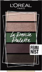 L'Oréal Paris Make-Up Designer La Petite Palette - 05 Feminist - Mini Oogschaduw Palette