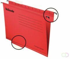 Rode Esselte Classic hangmappen voor laden,tussenafstand 365 mm, rood