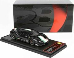Zwarte Ferrari 488 Pista Piloti Ferrari New Black Daytona 1-43 BBR Models Limited 60 Pieces