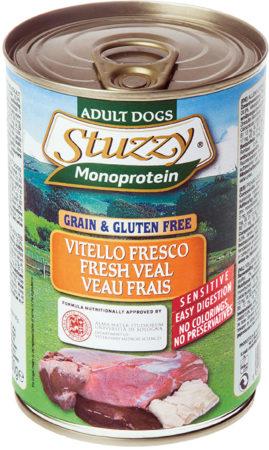Afbeelding van Stuzzy Monoproteïn Kalf - Hond - Natvoer - Volledig voer - 6 x 400 gr