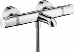 Hansgrohe Ecostat Comfort badkraan thermostatisch m.omstel m. koppelingen chroom