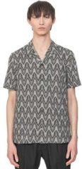 Beige Overhemd Korte Mouw Antony Morato MMSS00156 FA430413